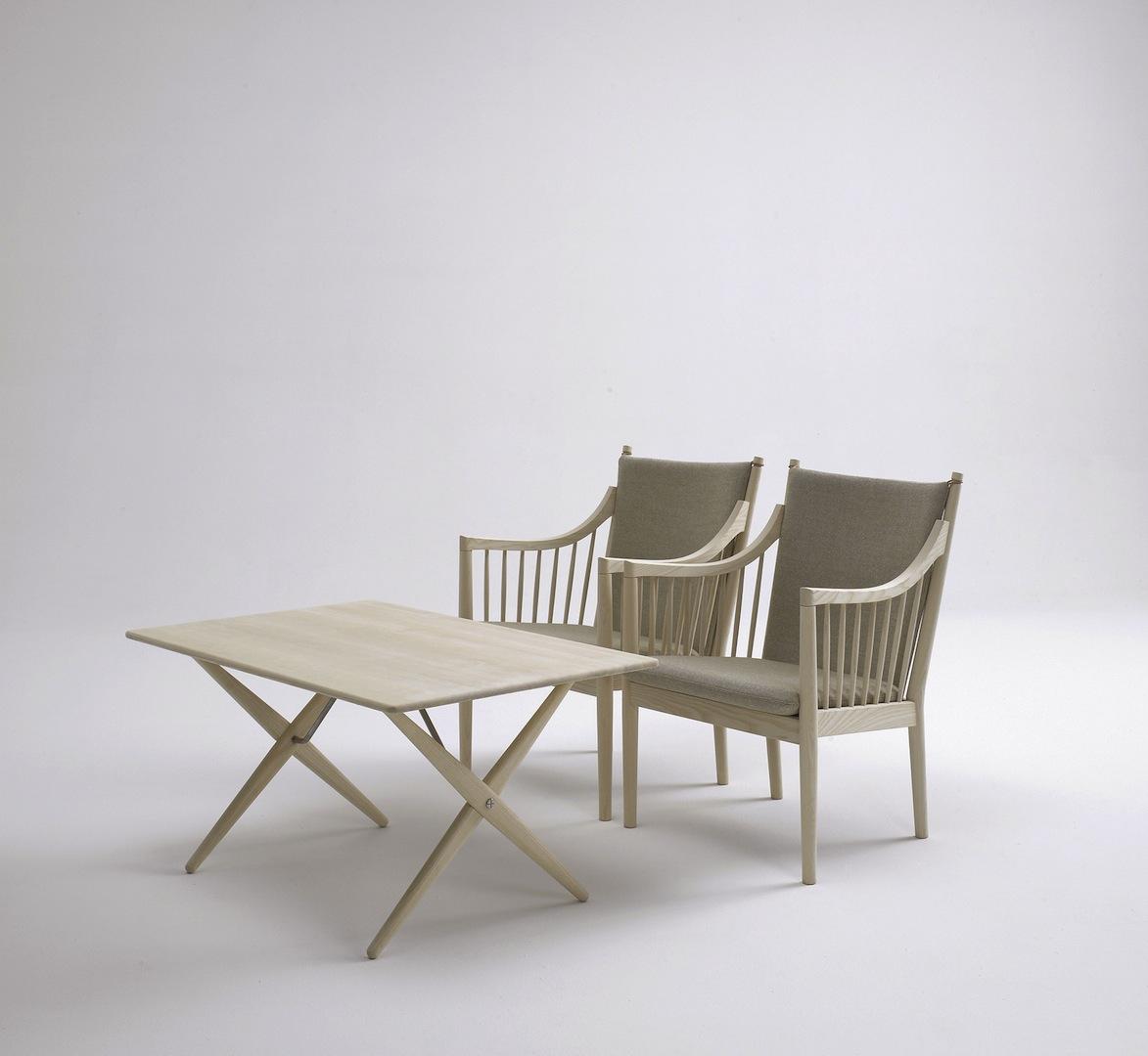 Wegner Ch008 Coffee Table: PP84 Coffee Table By Hans J. Wegner, Denmark. Design 1955